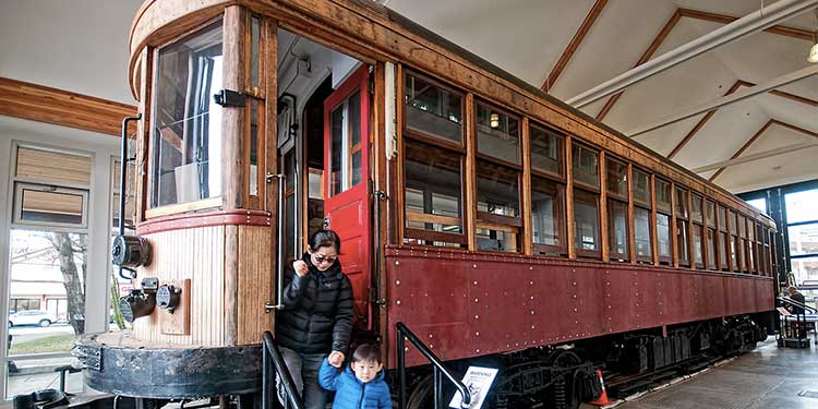 Interurban rolls on in history