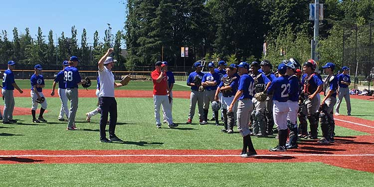 Richmond City Baseball hosts Blue Jays' camp