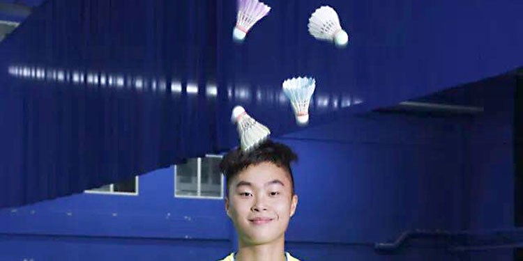McNair grad sets Guinness badminton record