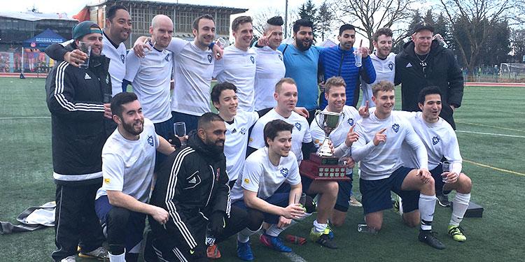 Graduates celebrate League Cup