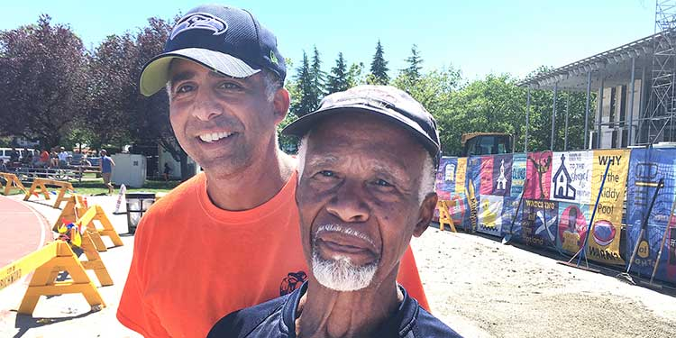 Father and son cross paths as track coaches