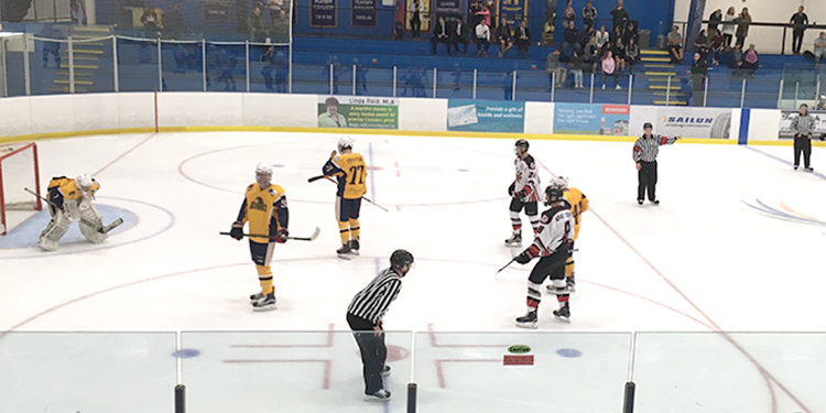 Sockeyes, Ice Hawks play to opening night draw
