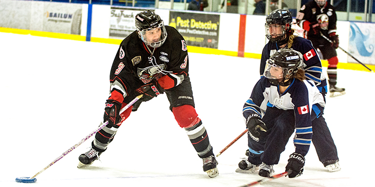 Fast-paced ringette reaching new levels