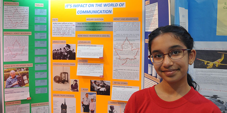 Students engage in history at heritage fair