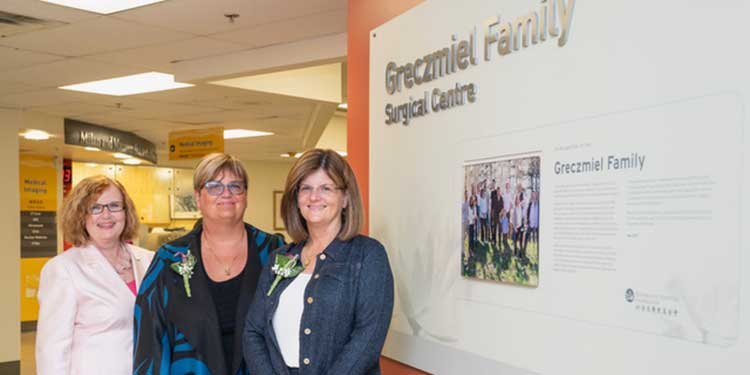 Greczmiel family donates $5 million to Richmond Hospital