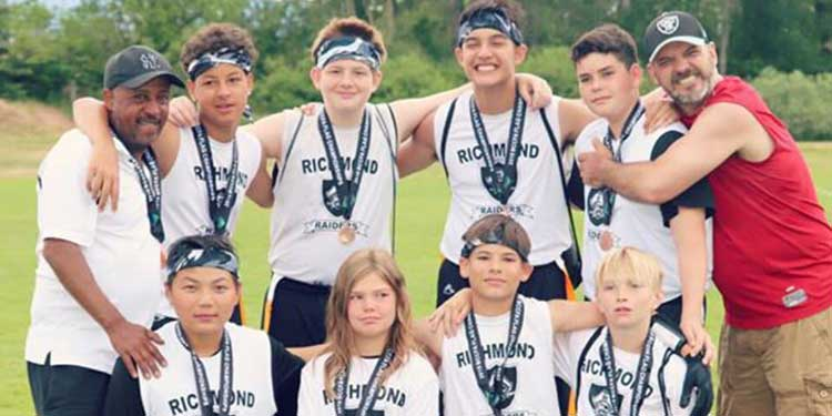 Raiders mine bronze in Okanagan