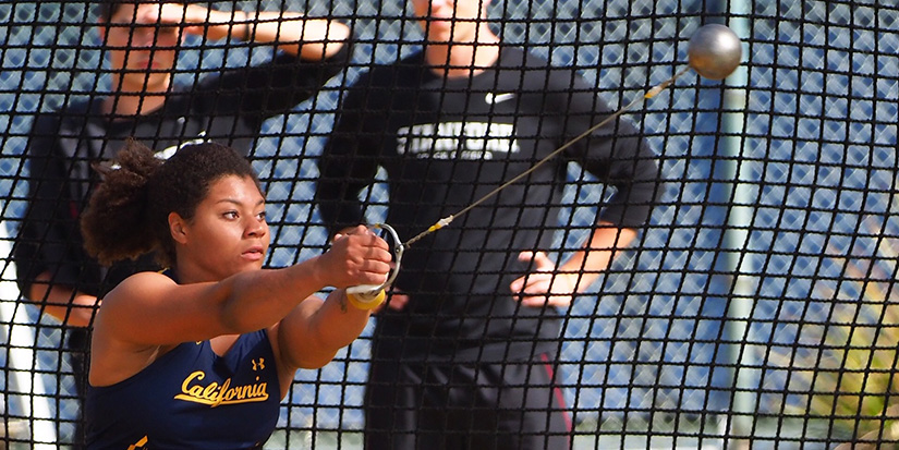 Rogers wins women's weight throw