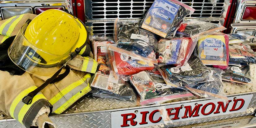 Richmond firefighters help those in need