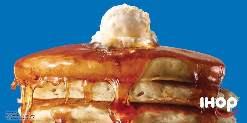IHOP serving up free pancakes Feb. 25