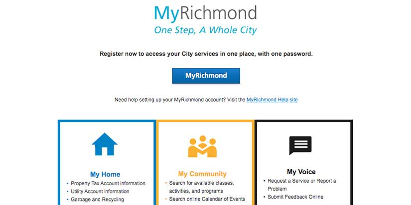 Richmond launches new program registration system