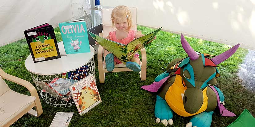Library Day Aug. 21 at the PNE