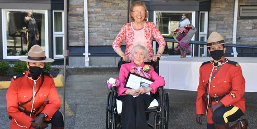 Richmond woman joins centenarian club