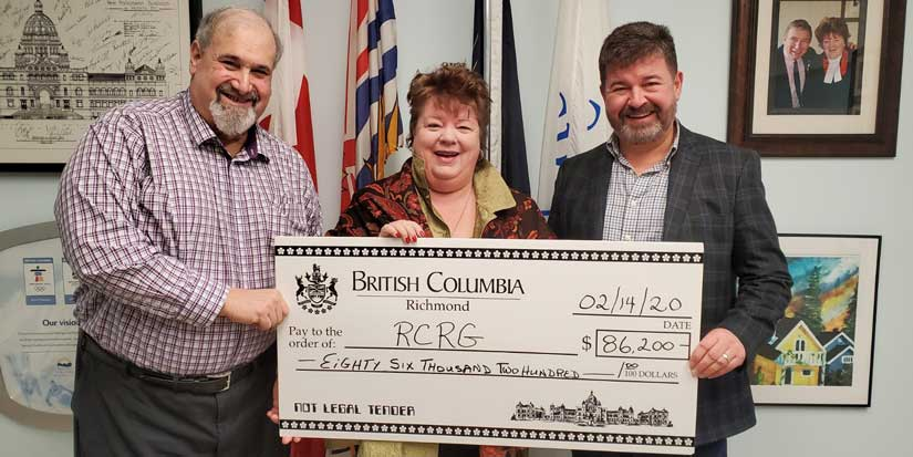 Richmond Cares, Richmond Gives receives provincial grant