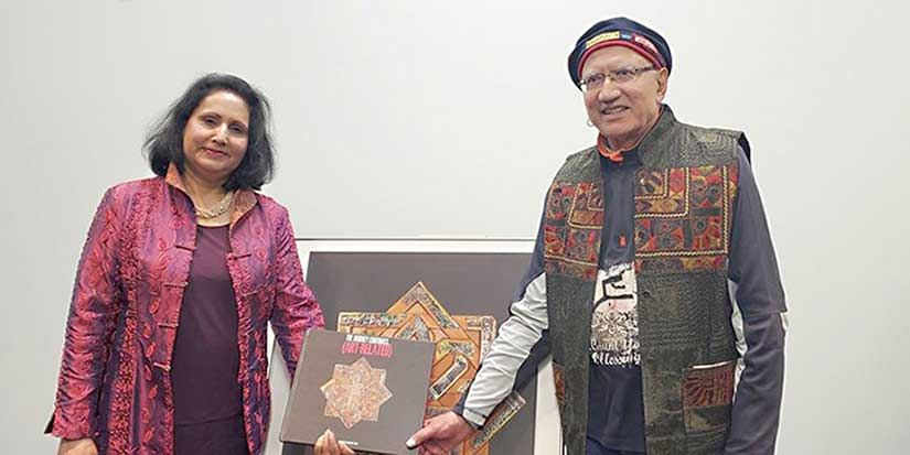 Local author creates art, spreads harmony