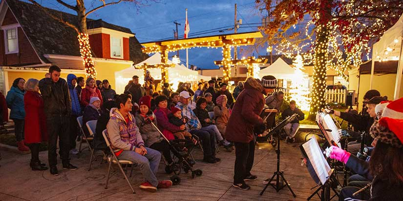 Steveston Museum's Songs in the Snow brightens the winter darkness