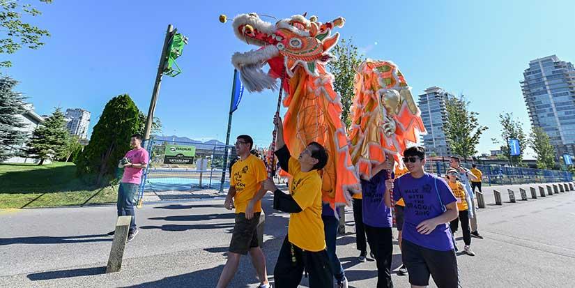 Walk with the Dragon raises $328,000