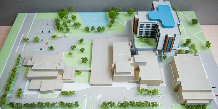 Hospital tower gets unanimous support from riding candidates