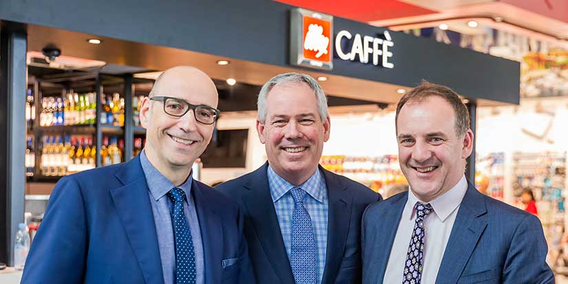 YVR offers a cuppa Joe with an authentic Italian flair