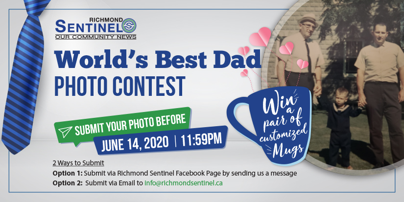 "Richmond Sentinel Presents: Father's Day ""World's Best Dad"" Photo Contest"