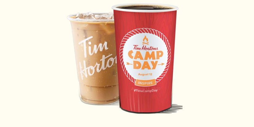 Today is Tim Hortons Camp Day