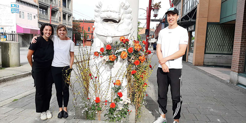 Richmond man helps beautify Chinatown monument