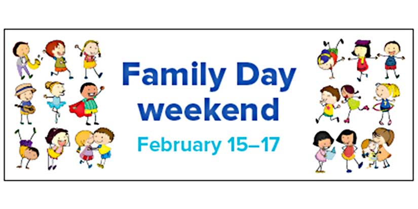 Family Day events in Richmond