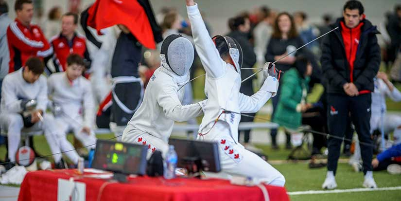 Dynamo fencers dominate Canada Cup
