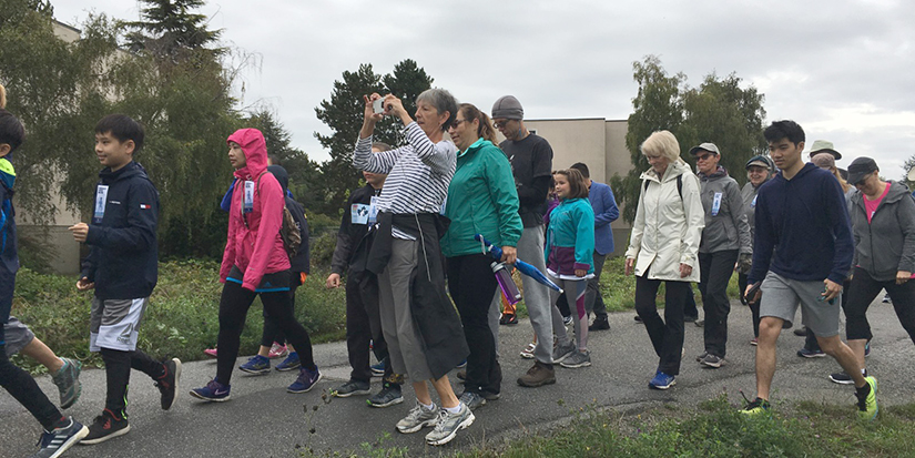 Hundreds support cancer research through annual Terry Fox Run