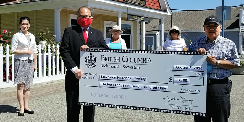 Steveston Historical Society receives grant