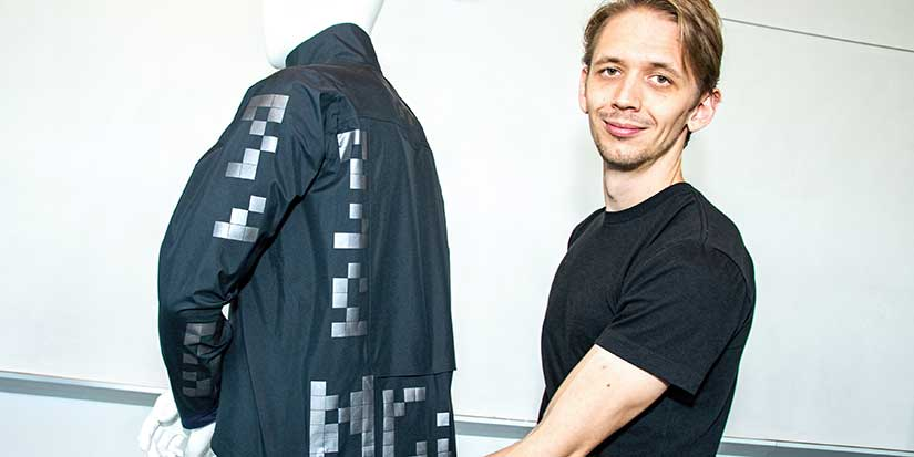 KPU tech design grad wins bronze for cycling jacket