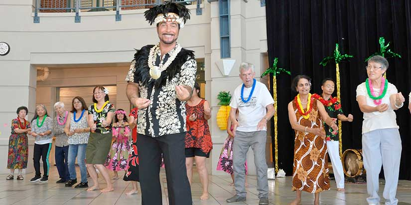 Seniors enjoy 'A Taste of the Tropics'