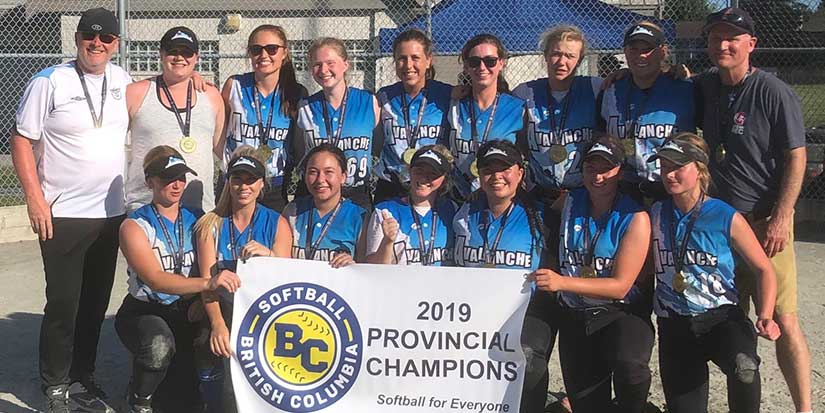 Best in B.C. gather for softball glory in Richmond