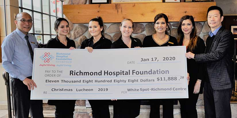 White Spot luncheon supports hospital