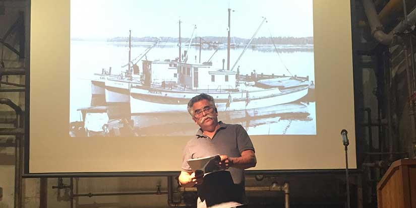 Fisher poet mixes work with creativity