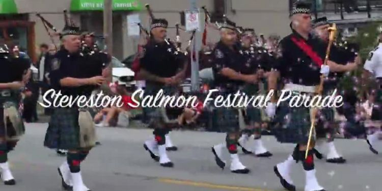 STEVESTON SALMON FESTIVAL PARADE. Tens of thousands celebrated Canada's 151st birthday July 1 in Richmond, starting with the annual Steveston Salmon Festival Parade.