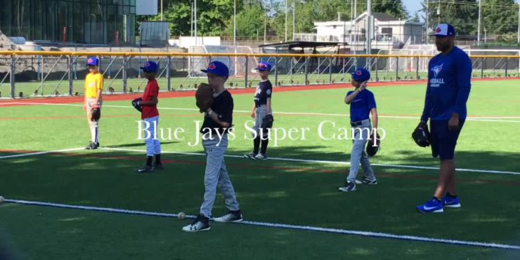 Blue Jays roost in Richmond.  Toronto Blue Jays alumni Jesse Barfield, Lloyd Moseby, JP Arencibia and Ricky Romero participated in the Blue Jays Baseball Academy's Honda Super Camps (in partnership with Baseball Canada and Little League Canada) July 26 and 27 in Richmond.