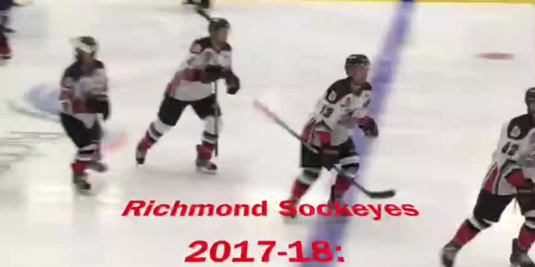 HOCKEY'S BACK. Richmond Sockeyes begin their 2018-19 Pacific Junior Hockey League season, and defence of their provincial Cyclone Taylor Cup championship,  Thursday (Sept. 6) by playing host to the Delta Ice Hawks. Game time is 7 p.m. at Minoru Arenas.