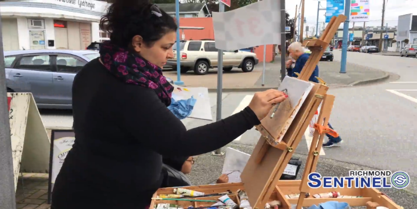 Steveston aglow in Grand Prix of Art